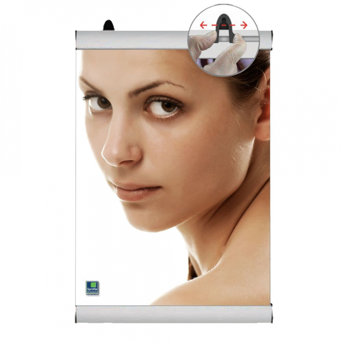 Poster-Clamp eco 420mm A2/A3 Klemmprofil